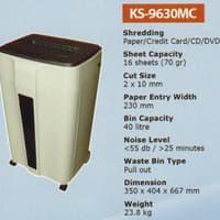 Mesin Penghancur Kertas Kozure KS 9630 MC